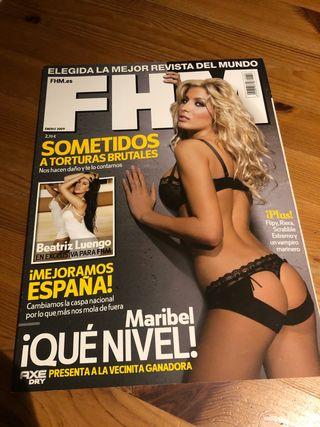 Revista FHM distinta portada