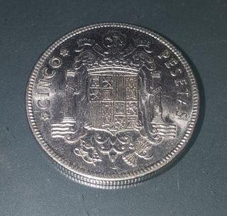 Moneda de 5 pesetas 1949