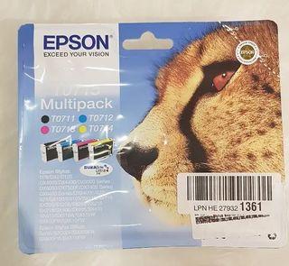 EPSON T0715 MULTIPACK 2021 CADUCIDAD NUEVO