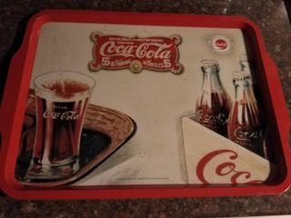 bandeja lata Coca cola