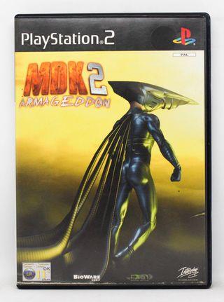 MDK 2 Armageddon PlayStation 2 PAL España