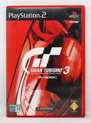 Gran Turismo 3 A-Spec PlayStation 2 PAL España