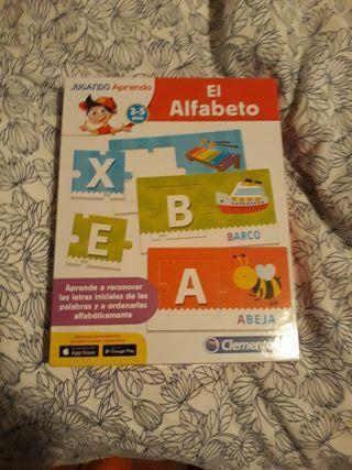 Juego- puzzle abecedario 3- 5 años , Clementoni