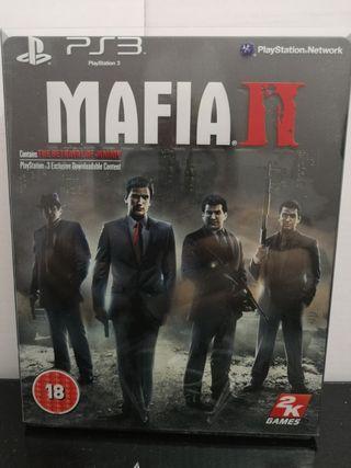 Mafia II (mafia 2) caja metálica PS3