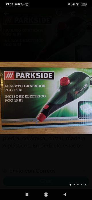 aparato grabador Parkside