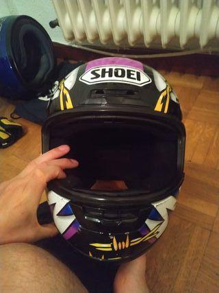 casco moto integral shoei sin visera talla m 57-58