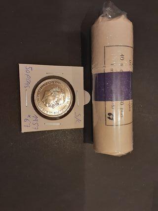 Moneda 50 Pesetas 1957 Estrella 67 Estado Español