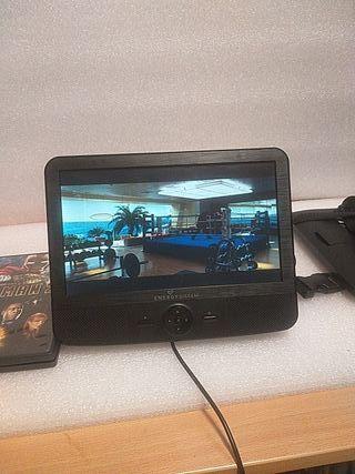 televisión portátil pequeña para casa o para coche