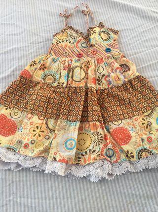 Vestido niña MAYORAL talla 4/5 años