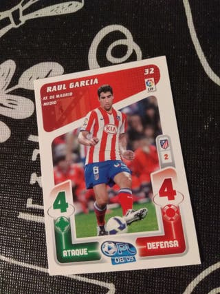 Play liga 2008/2009. Raul Garcia 32. Panini
