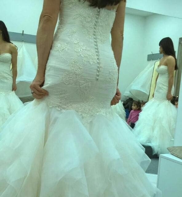 vestido de novia. La sposa.
