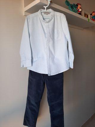 3 Conjuntos Pantalón Largo niño y regalo jerseys
