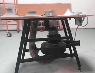 Fresadora de gomaespuma industrial LIQUIDACIÓN