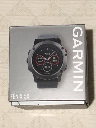 Garmin reloj Fénix 5X
