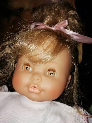 muñeca antigua 45 centímetros