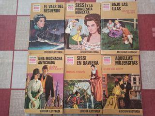 Colección novelas lectura juvenil. Precio unidad.