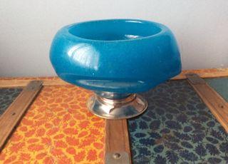 Fuente decorativa de vidrio maciza