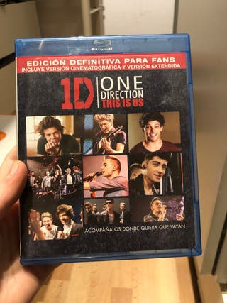 This Is Us Película One direction Blu-Ray