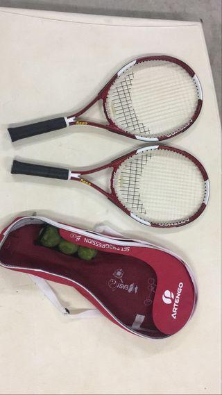 Pack 2 Raquetas de Tennis