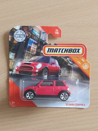 Mini Rojo - matchbox