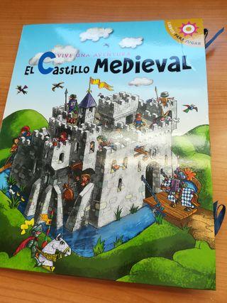 Libro POP UP Aventura: El Castillo Medieval