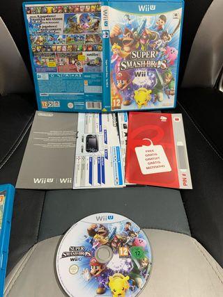 Súper smash bros Wii u