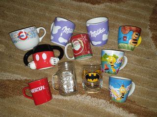 Lote tazas colección vaso jarra tazón