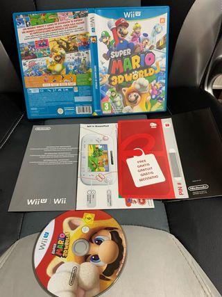 Súper Mario world Wii u