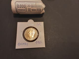 Moneda 100 Pesetas 1982 Juan Carlos I S/C España