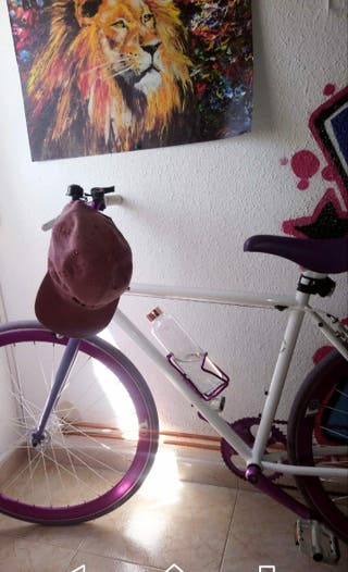 bicicleta tipo fixie seminueva