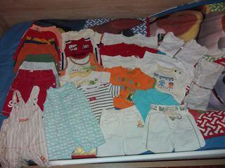 lote ropa verano 3 a 6 meses