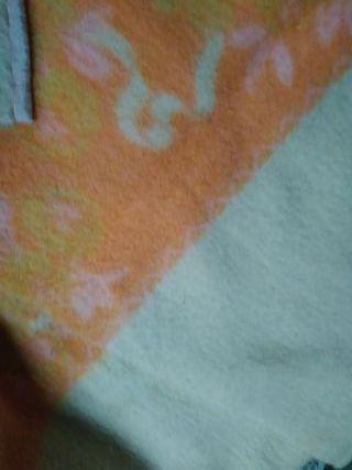 manta de pura pana virgen. para cama 1,35cm.