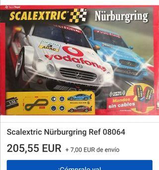 Scalextric - circuitos, pistas, coches, etc