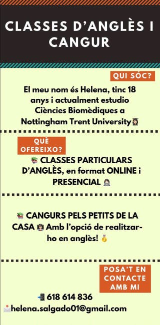 Classes particulars i/o cangur