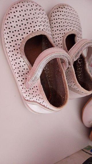 lote zapatos bebe niña 24