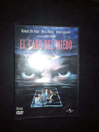 DVD EL CABO DEL MIEDO ROBERT DE NIRO