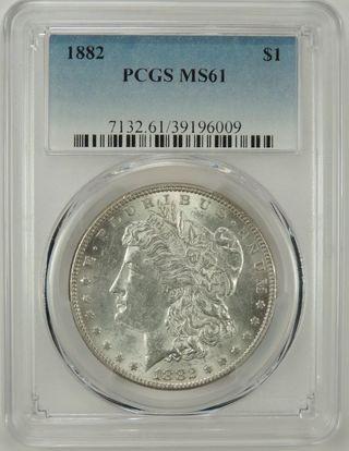 Moneda Dolar de plata Morgan Estados Unidos