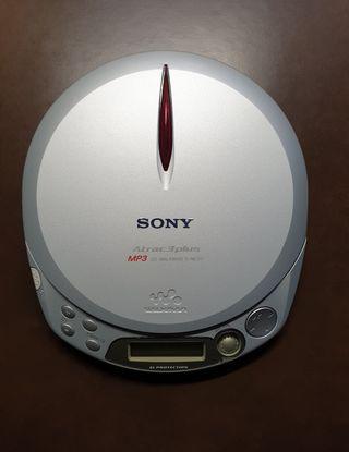 Sony CD Walkman modelo D-NE511 sin uso.