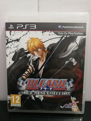 Bleach Soul Resurrección PS3