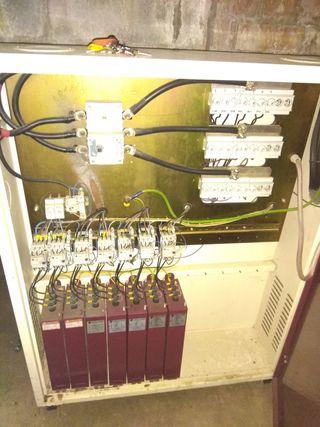 Bateria de condensadores compensacion reactiva