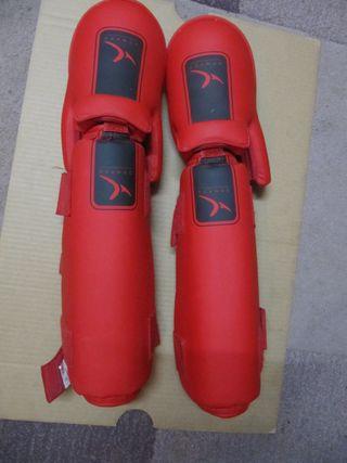 protecciones kickboxing domyos