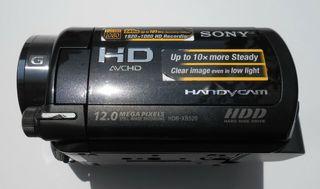 Sony HDR-XR520VE 240 GB Videocámara profesional