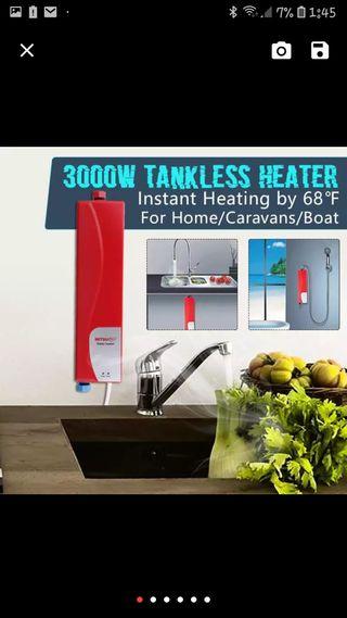 Calentador de agua eléctrico instantaneo