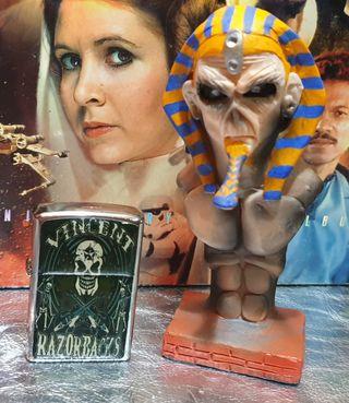 Iron Maiden ( Busto Eddy +Encendedor ).