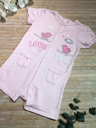 Talla 2 años pijama de verano corto