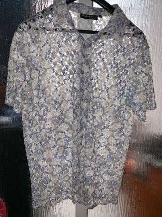 Camisa celestino Muñoz XL