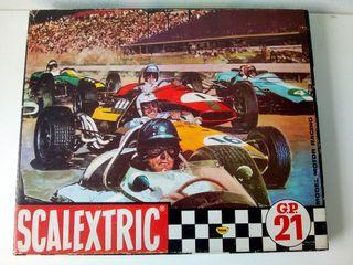 Circuito GP-21 Scalextric Exin sin coches