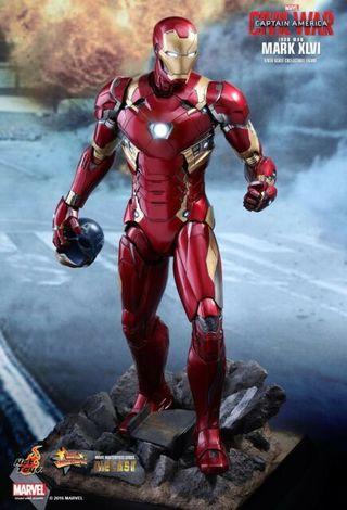 Hot toys Iron man mark 46