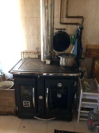 Cocina económica para calefacción