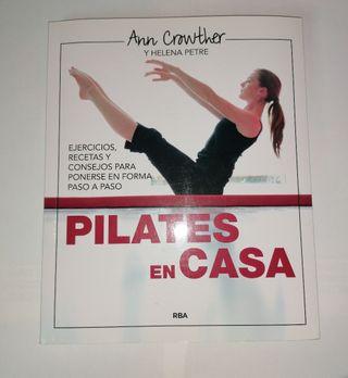"""Libro """"Pilates en casa"""""""